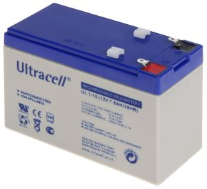 12Volt - 7AH Ultracell Accu - € 19,95